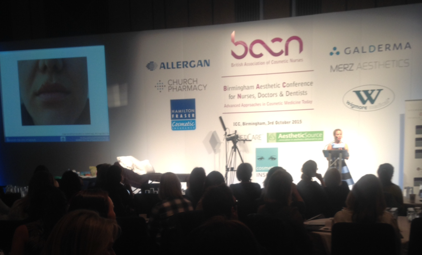 conference report bacn conference birmingham aesthetics the day featured presentations on a wide range of subjects which included treating lips tear troughs pigmentation and acne as well as discussions of the